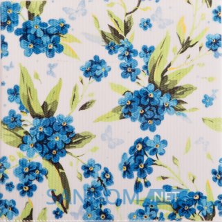 Декор Атем Orly Galliano Forget-me-not W 20x20