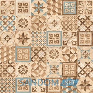 Плитка для пола Golden Tile Country Wood Mix 30х30