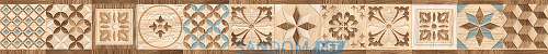 Фриз Golden Tile Country Wood Mix 5х60