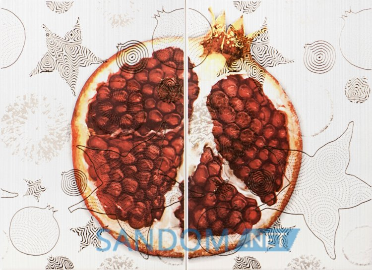 Декор-панно Атем Vitel Fruit Pomegranate 55x40