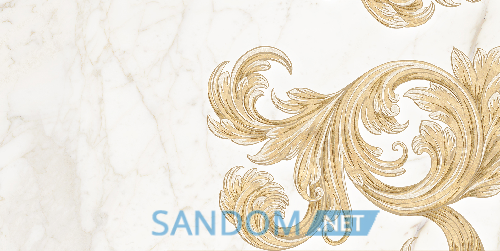 Декор для стен Golden Tile Saint Laurent Decor 2 White 30х60
